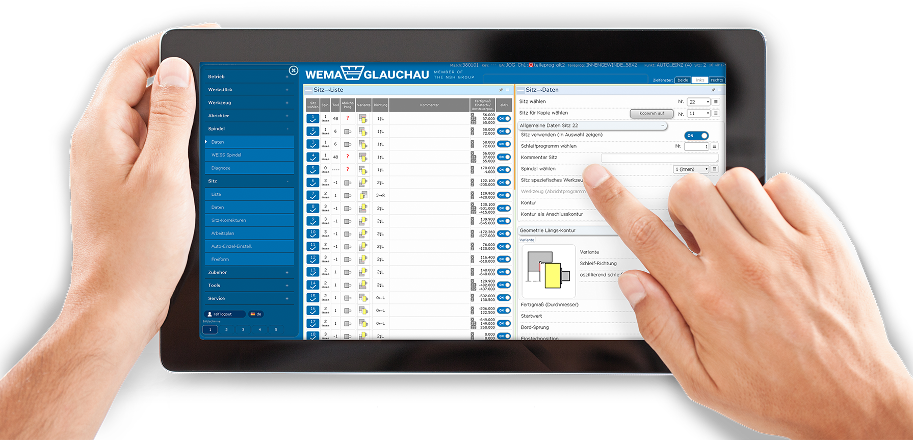 WoP® 2.0 Interface